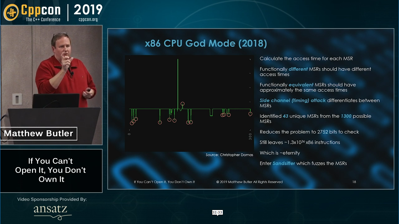 My CppCon 2019 Talk Is Now Live